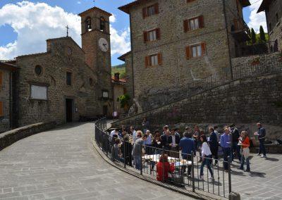 Il pranzo nel Borgo di Raggiolo